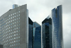 Paris skyscapers nowoczesnych Fotografia Stock