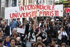 paris slaguniversitetar Fotografering för Bildbyråer