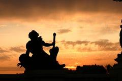 paris solnedgång royaltyfri foto