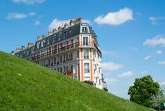 Paris som bygger Royaltyfri Fotografi
