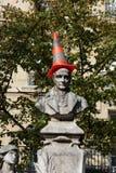 Paris - Sorbonne Square. Stock Photos