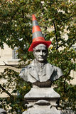 Paris - Sorbonne Square. Royalty Free Stock Photos