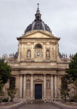 Paris - Sorbonne University. PARIS, FRANCE - JUNE 9: Sorbonne University on June 9, 2014 in Paris, France. Name is derived from College de Sorbonne, founded by stock image