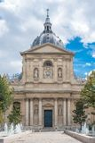 Paris, the Sorbonne university. Paris, France, the Sorbonne university, public research school in France stock images