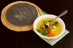 Paris Soup Stock Photography