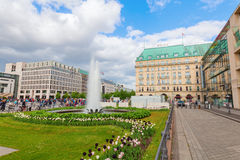 Paris Square in Berlin, Germany Royalty Free Stock Photos