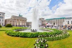 Paris Square in Berlin, Germany Stock Image