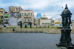 Paris Square in Haifa Stock Photography
