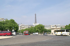 Paris. Squares Vauban Royalty Free Stock Images