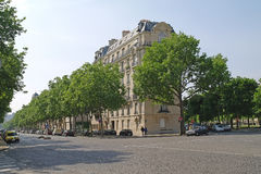 Paris. Squares Vauban Stock Image