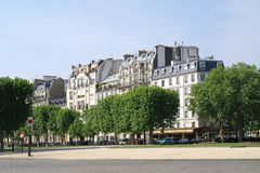 Paris. Squares Vauban Stock Photos
