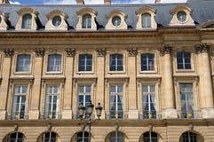 Paris stället Vendome Arkivbilder