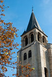 Paris, St Germain des Prés Church Stock Photography