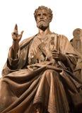 Paris - st. Petrus statue from Saint-Pierre de Montrouge church Royalty Free Stock Image