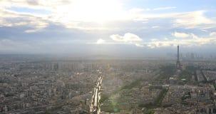 Paris stadscityscape lager videofilmer