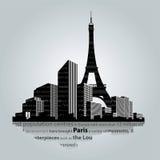 Paris-Stadt Lizenzfreies Stockbild