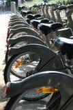 Paris-Stadt-Fahrräder Stockfotografie