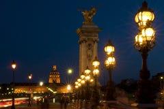 Paris, Stadt von Lichtern Stockbild