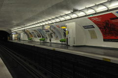 Paris station Royalty Free Stock Images