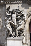 Paris,Statue of Opera Garnier in Paris stock image