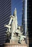 Paris - statue La Defense Stock Images