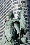Paris - statue La Defense Royalty Free Stock Images