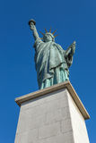 Paris, the Statue of Liberty on an island Stock Image