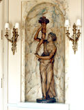 PARIS:Statue in Palace Hotel Royalty Free Stock Image