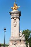 Paris, statues Stock Images
