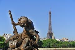 Paris, statues Royalty Free Stock Photo