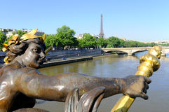 Paris, statues Royalty Free Stock Images