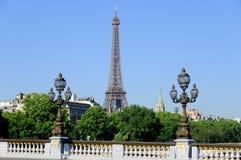 Paris, statues Stock Image
