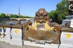 Paris, statues Stock Photos