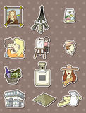 Paris stickers Royalty Free Stock Photo