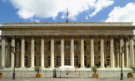 Paris - stock exchange building Royalty Free Stock Photos