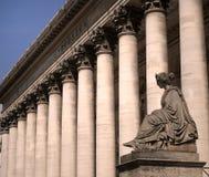 Paris - stock exchange building. France - Paris - stock exchange building royalty free stock images