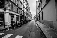Paris-Straßen Stockbild