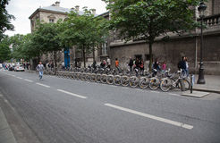 Paris Street Stock Photography