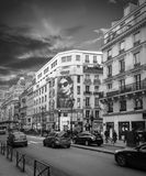Paris street. Paris,france - september 15- 2014 Stock Images