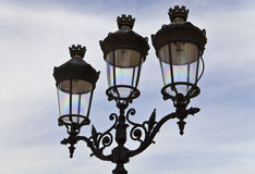 Paris Street Lamp Stock Images
