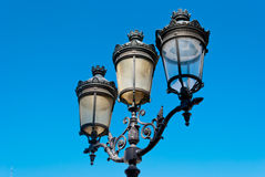Paris street lamp detail Stock Images