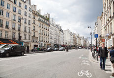 Paris Street Stock Photos