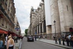 Paris Street Royalty Free Stock Photo