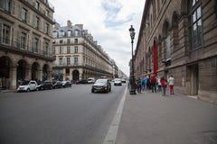 Paris Street Royalty Free Stock Image