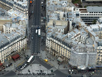 Paris street view Royalty Free Stock Images