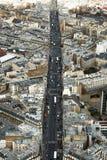 Paris street view Stock Image