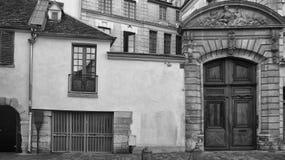 Paris Street View Royalty Free Stock Photo