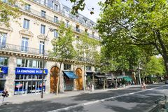Paris Streets Royalty Free Stock Photos