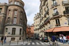 Paris Streets Stock Photography
