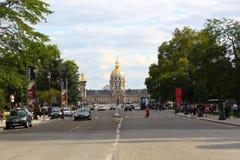 Paris Streets Stock Images
